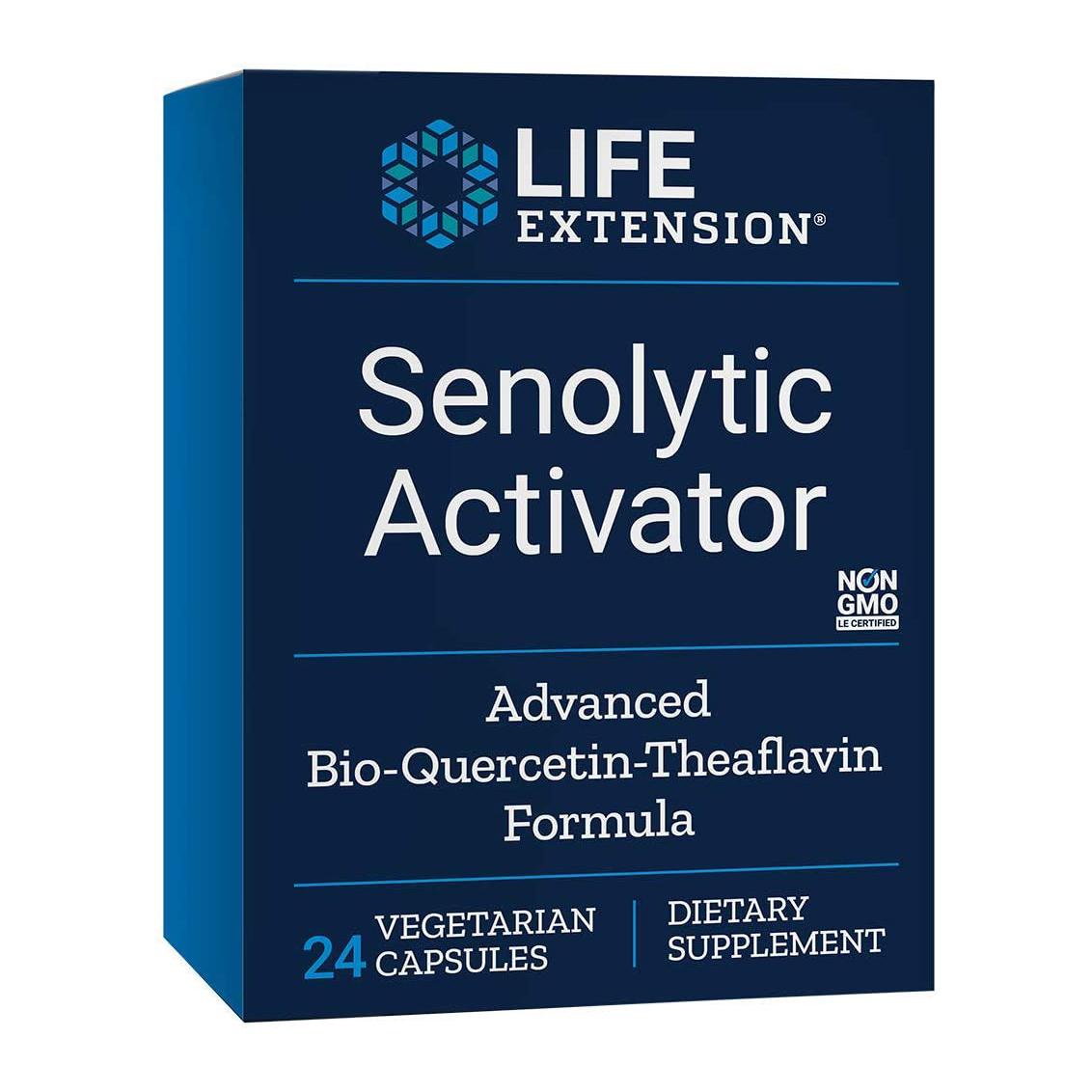 Life 祝日 Extension ライフエクステンション Senolytic Activator セノリティック 海外直送品 値下げ 36ベジタリアンカプセル アクティベーター
