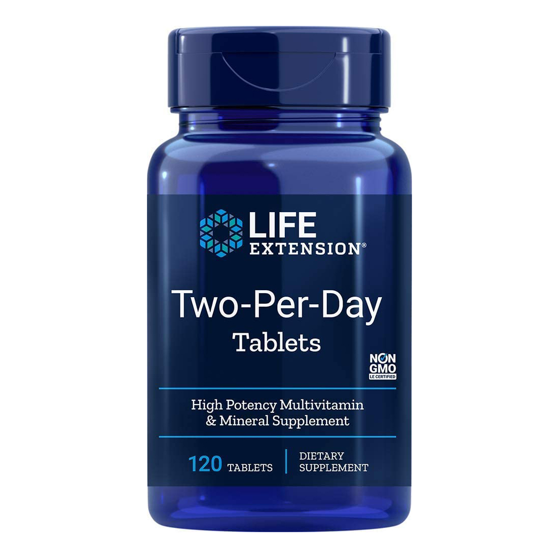 Life Extension ライフエクステンション 1日2回 海外直送品 ブランド激安セール会場 120錠 新色 マルチビタミン