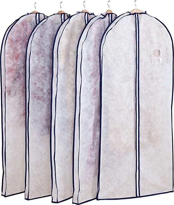 衣類カバー 5枚組 ロングコート 洋服ケース 衣装カバー 洋服カバー 洋服収納 収納 収納ボックス 収納ケース ダウンジャケット 縫製 ファスナー仕様 セール期間中 通気性良好 在庫要確認 不織布 型崩れ防止 10%OFF 大口注文対応可 月間優良ショップ受賞 厚手 マチ付 ロングサイズ 格安激安 110-49 ショッピング アストロ ほこり除け