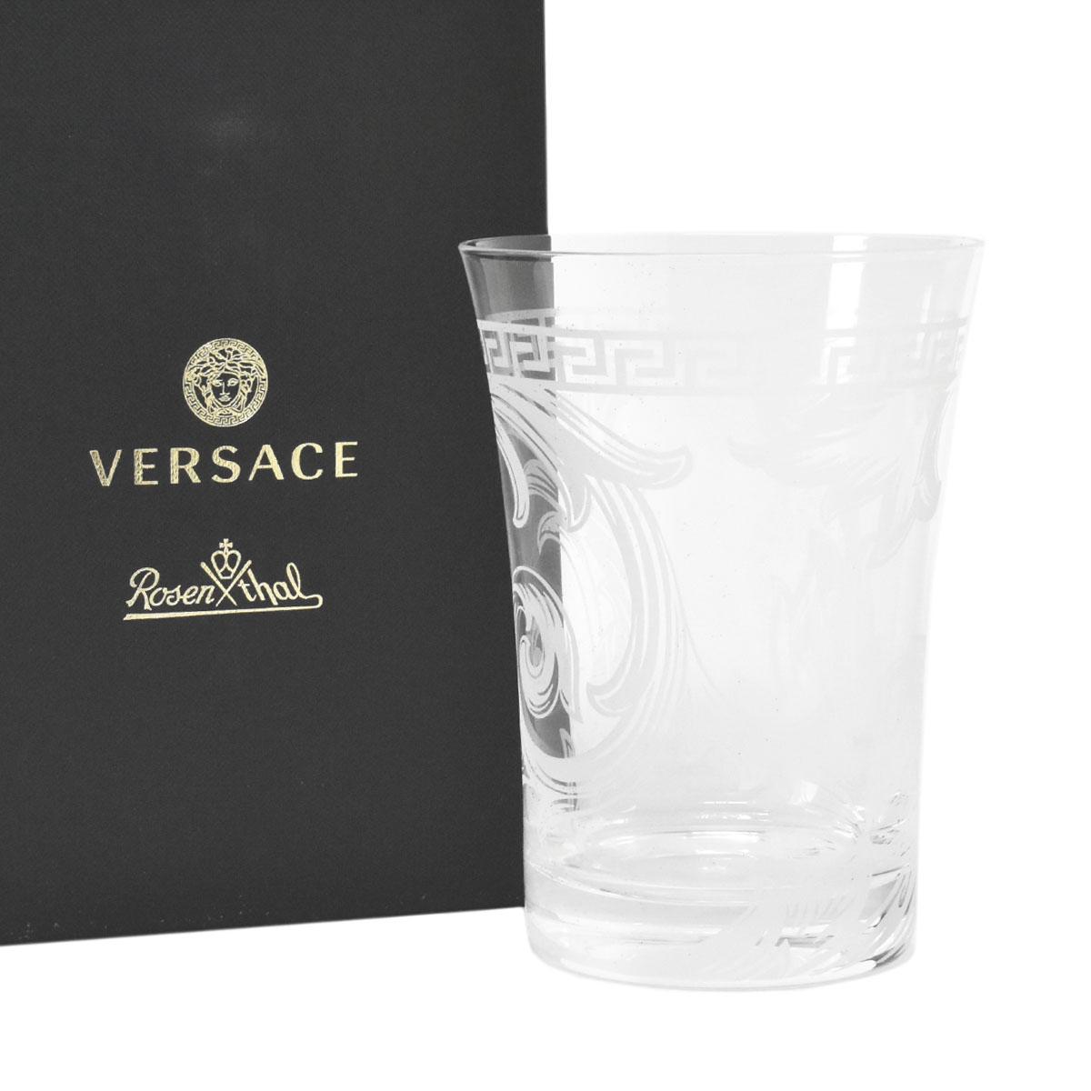 高品質新品 送料無料 驚きの値段で あす楽対応 ヴェルサーチ VERSACE AR ABESQUE CRYSTAL グラス 40698 ブランド箱入り ギフト 320319 69955 LARGE LONGDRINK