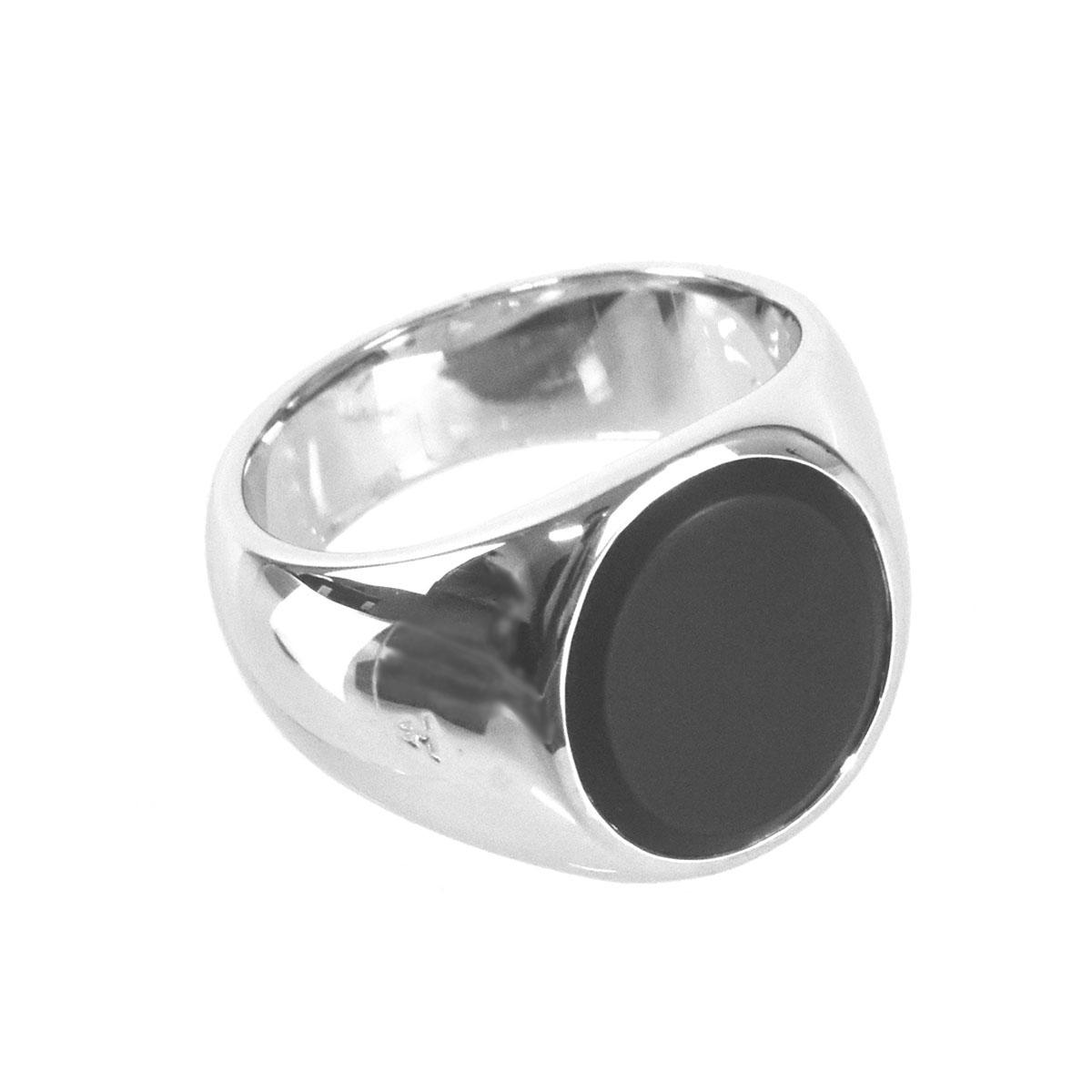 送料無料 あす楽対応 トムウッド TOM WOOD リング 指輪 メンズ シルバー ブラックオニキス BLACK ONYX R74IEMBO01S925 天然石 OVAL ジュエリー シルバー925 アクセサリー ブラック 直輸入品激安 M 未使用品
