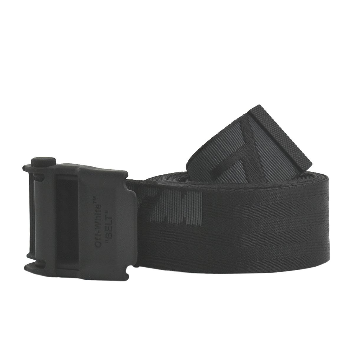 <title>送料無料 あす楽対応 推奨 オフホワイト OFF-WHITE ベルト メンズ ブラック OMRB034E20FAB001 BELTS 1010 BLACK</title>