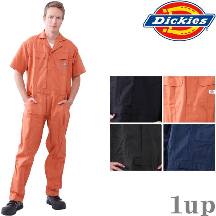 ディッキーズ つなぎ 1111 半袖 ツヅキ服 4L-5L (Dickies ツナギ カバーオール 春夏用)
