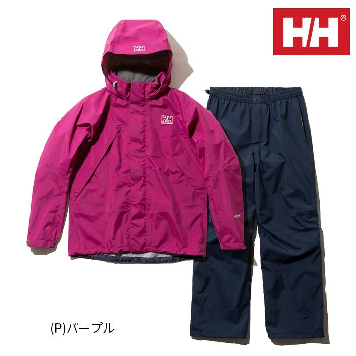 ヘリーハンセン HELLY HANSEN ヘリーレインスーツ(レディース)上下セット 登山 アウトドア 雪山 通勤 サイクリング HOE11900