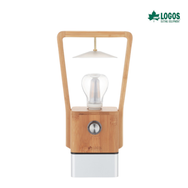 ロゴス Bamboo ランタン キャンプ アウトドア ランプ 照明 74175005