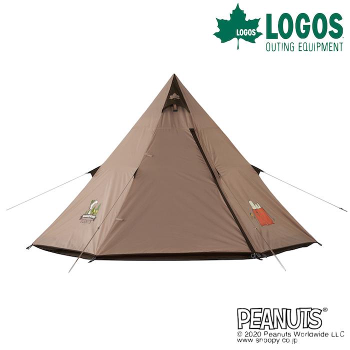 ロゴス SNOOPY Tepee テント 86001083