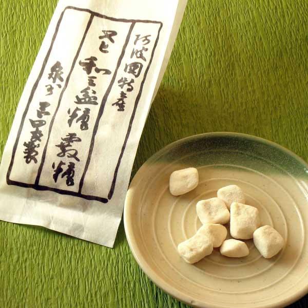和三盆 阿波和三盆糖 霰糖4個セット 岡田製糖所【送料無料:ゆうパケット】