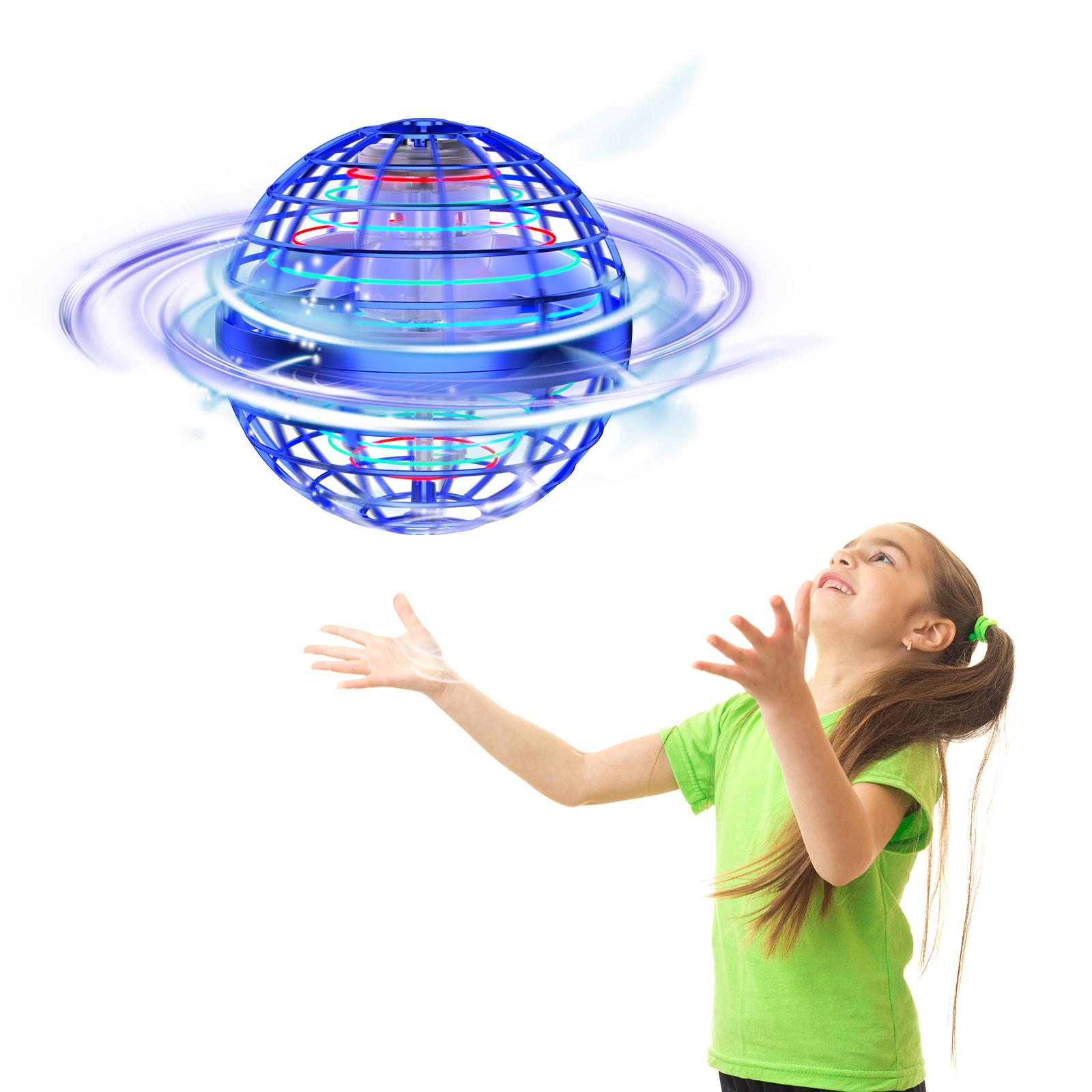 2021新品発売 【あす楽対応】 【スーパーDEAL 20%OFF】 ミニドローン 球体ドローン Tomzon フライングボール 360°回転 綺麗なLEDライト USB充電式 超軽量 男の子 女の子 小学生 飛行機 おもちゃ 知育玩具 飛行機 こどもの日 誕生日