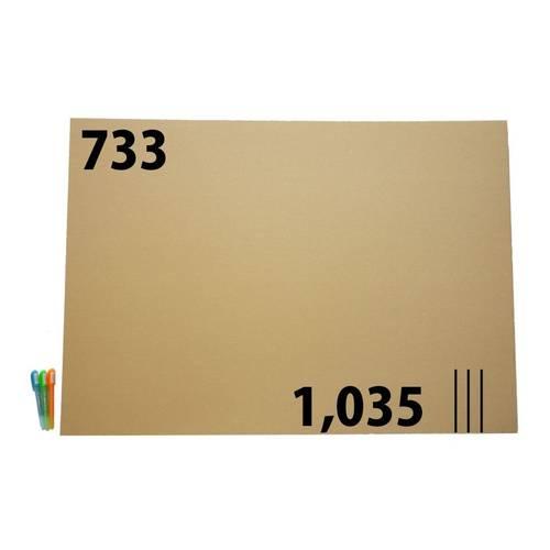 ダンボール 段ボール「板 B1サイズ対応(733×1,035mm) 45枚」茶色