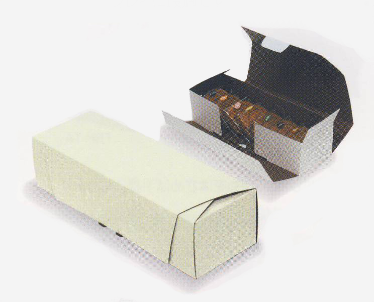 送料無料・和包装パッケージ「菓子(小)用」240×80×60mm「200枚」※代引き不可 組立箱 ギフト箱 菓子用 ダンボール 和包※代引不可※ ※個人様宛配送不可※