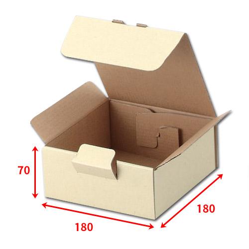 送料無料・宅送ボックス180×180×70mm「100枚」化粧箱 ダンボール 包装 ラッピング 梱包※代引不可※ ※個人様宛配送不可※