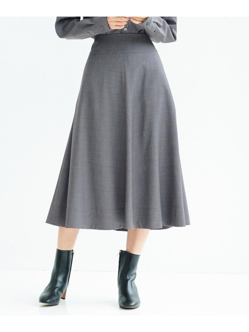 23区 レディース スカート ニジュウサンク L Rakuten Fashion SALE 日本未発売 お買得 50%OFF スカートその他 RBA_E 中村アンさん着用 ベージュ グレー 番号G48 クリアドライウールフレア 送料無料 ネイビー