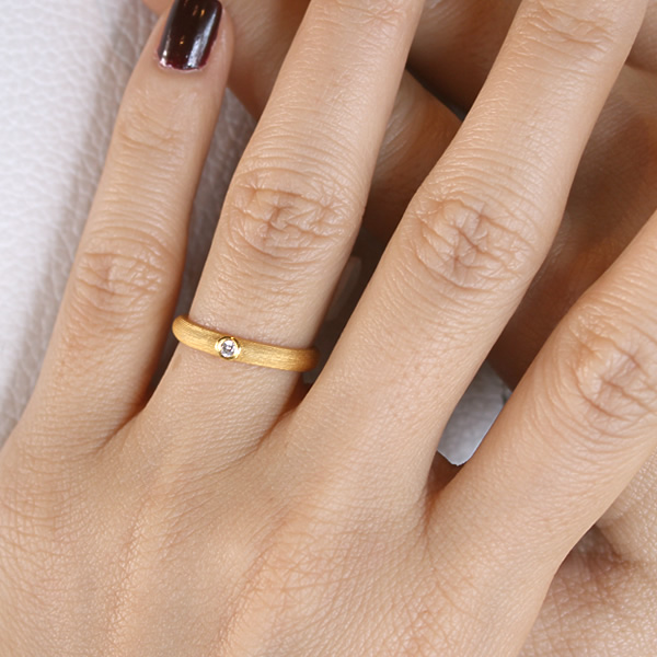 -24 gold K24 GOLD jewelry and accessories-one diamond ring-PRIMAGOLD prima gold