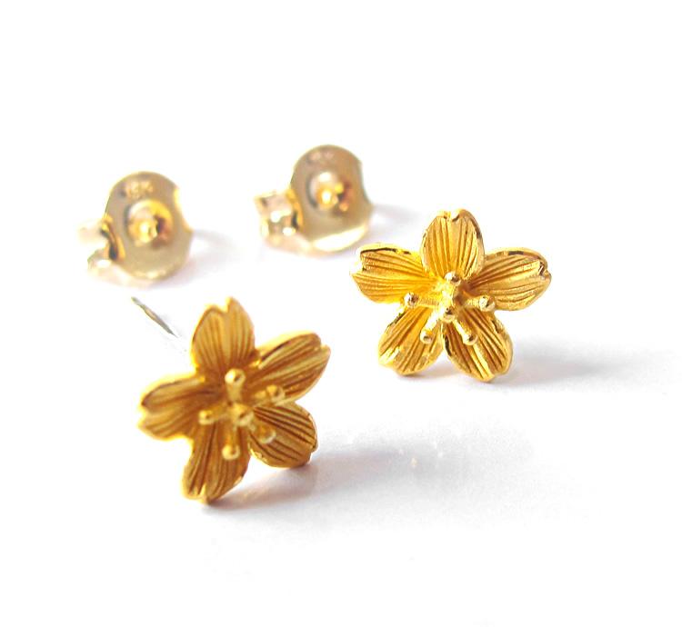 f4743201134de 24k Earrings Gold Jewelry
