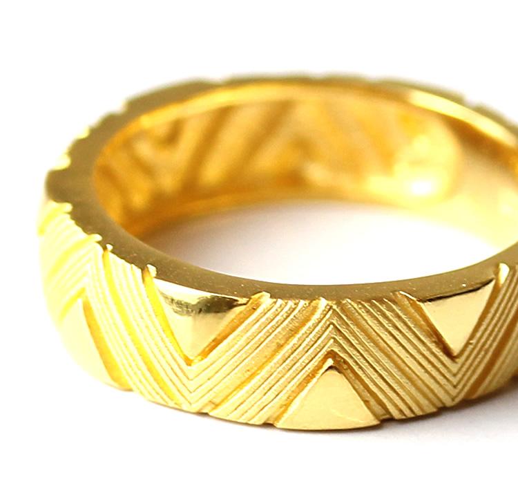 Prima Gold Japan: PRIMAGOLD geometry zigzag design 24k gold pure gold jewelry | Rakuten Global ... - photo#23