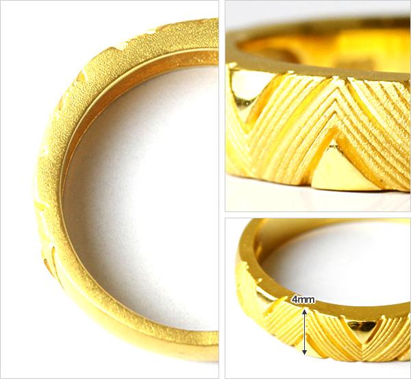 Prima Gold Japan: PRIMAGOLD geometry zigzag design 24k gold pure gold jewelry | Rakuten Global ... - photo#20