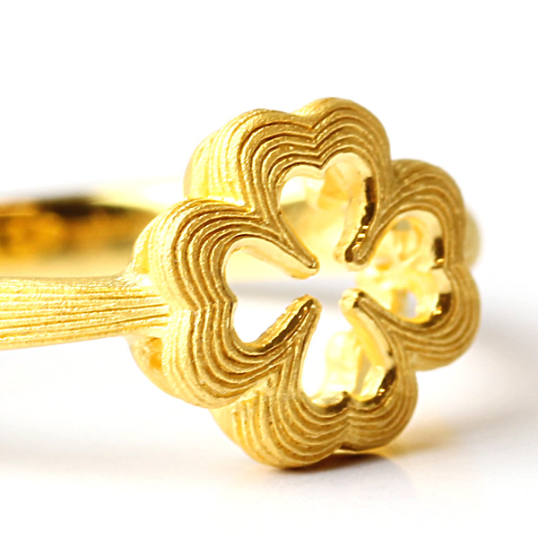 Prima Gold Japan: PRIMAGOLD heart four-leaf clover 24k gold pure gold jewelry | Rakuten Global ... - photo#47