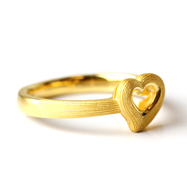 Prima Gold Japan: PRIMAGOLD open heart 24k gold [lady's pure gold jewelry for the woman ... - photo#34