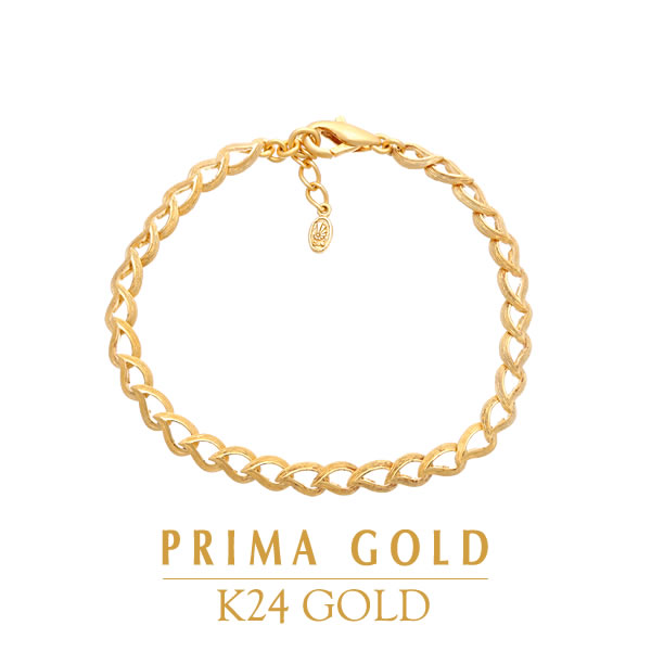 a0bef7c66832c Pure gold bracelet leaf drop leaf Lady's woman yellow gold gift present  birthday memorial day present 24-karat gold jewelry accessories brand ...