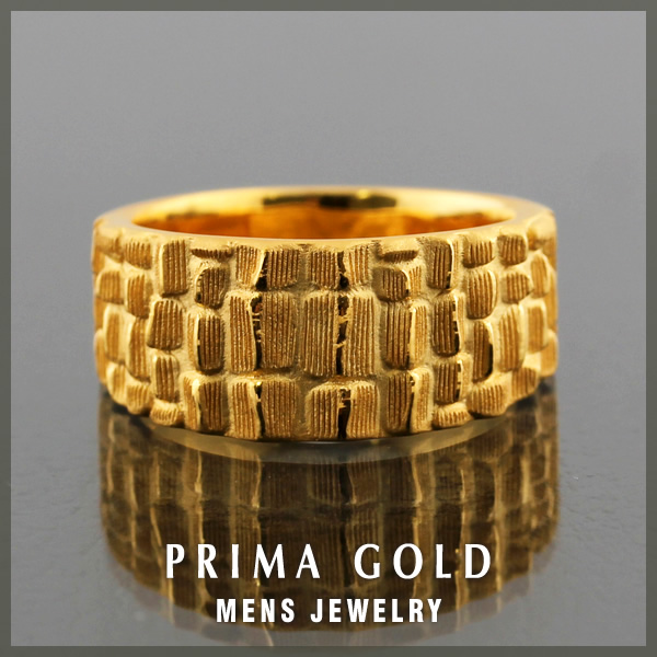 24K Mens pure gold ring gold pure gold K24YG PRIMAGOLD Rakuten jewelry  ranking first place acquisition d117d201dd