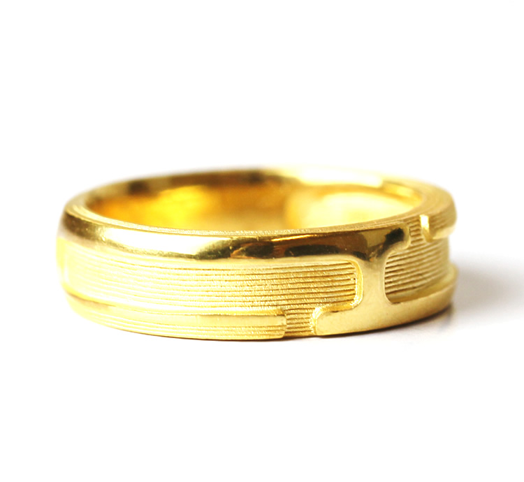 Pure Gold Ring For Man