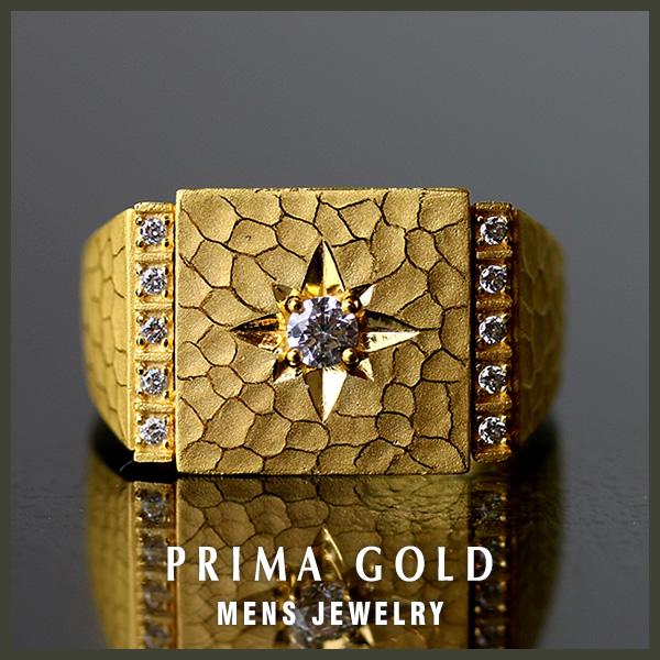 ●也对纯金人梯形环●K24 24钱纯金黄金●PRIMAGOLD purimagorudo●礼物、礼品推荐
