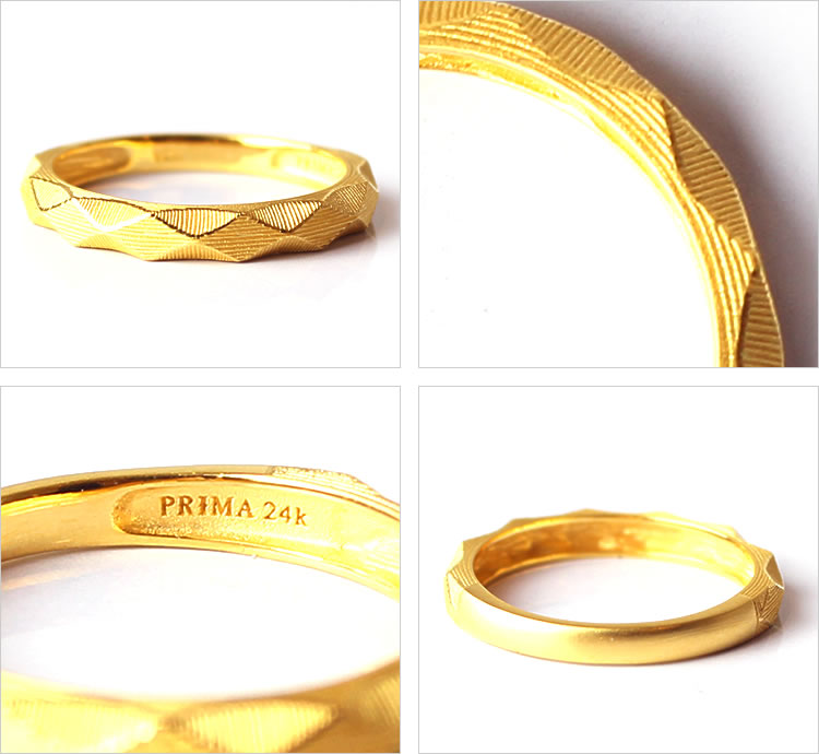 Prima Gold Japan | Rakuten Global Market: Diamond cut pure gold ...
