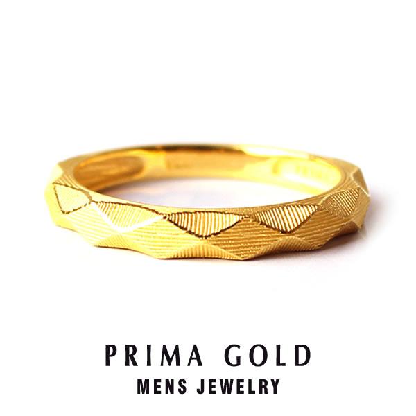 5aeb887a652e7 Pure gold diamond cut studs ring ring men man yellow gold gift present  birthday memorial day present 24-karat gold jewelry accessories brand metal  ...