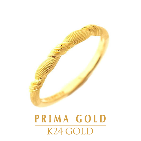 51e6650c7f0ef4 Pure gold ring ring Lady's woman yellow gold gift present birthday present  24-karat gold ...