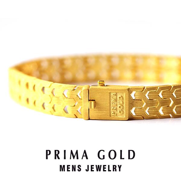 d7582f85756d2 Pure gold bracelet men man yellow gold gift present birthday memorial day  present 24K 24-karat gold jewelry accessories brand metal guarantee of ...