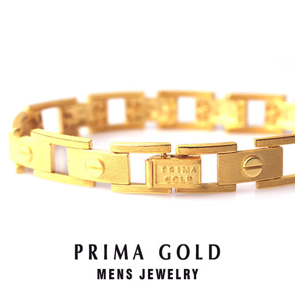 Pure gold bracelet screw design love men man yellow gold gift present  birthday memorial day present 24-karat gold jewelry accessories brand metal