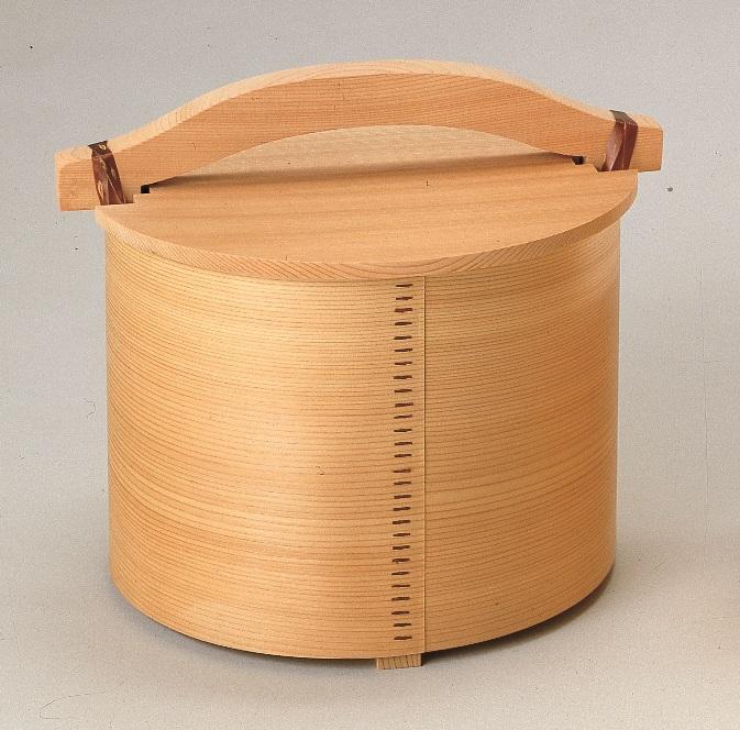 【茶道具】湯桶 杢仙作化粧箱