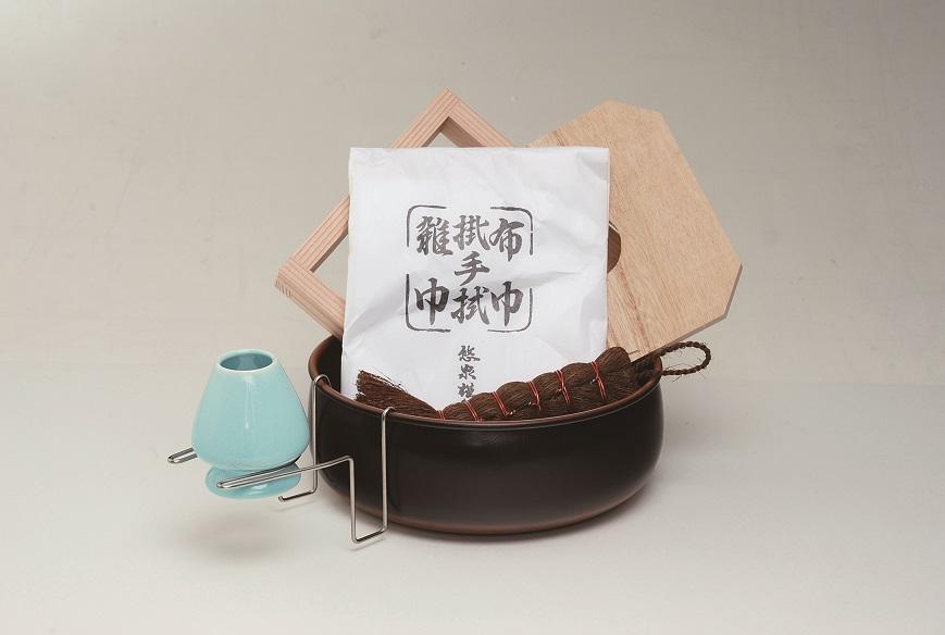 【水屋】茶巾たらいセット