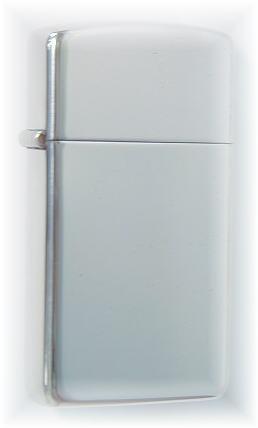 【送料無料!】 ZIPPO ライター ジッポライター スリム : シンプル無地 NEW-1500 スターリングシルバー slim ジッポープレゼントZIPPO