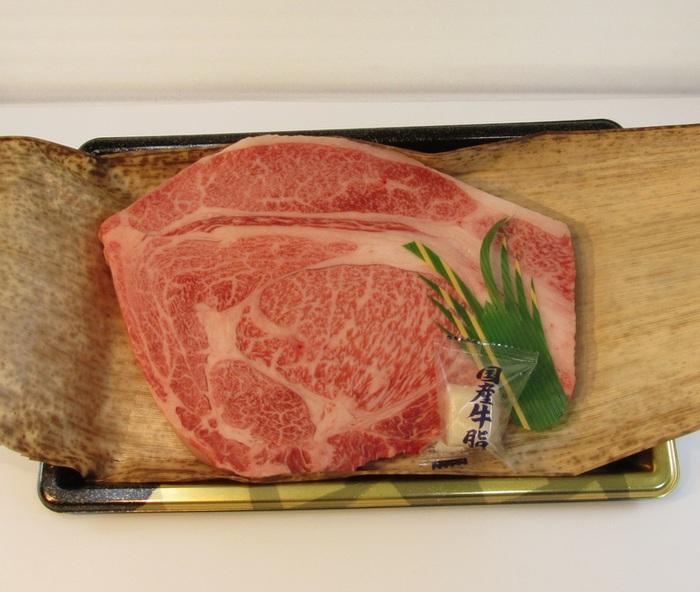 茨城が誇る銘柄牛常陸牛リブロースステーキ約360g×2切れ入り