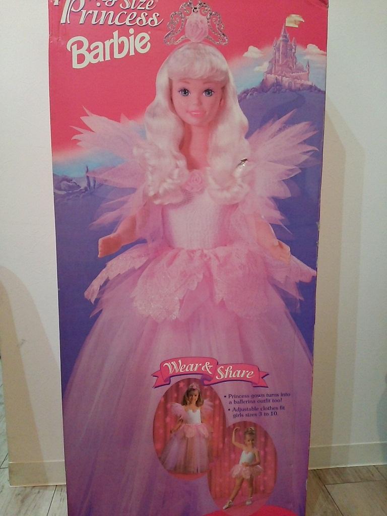マイサイズ バービー プリンセスバレリーナ送料込BarbieDollバービー人形バレリーナ雑貨 バレエ雑貨 バレリーナ人形