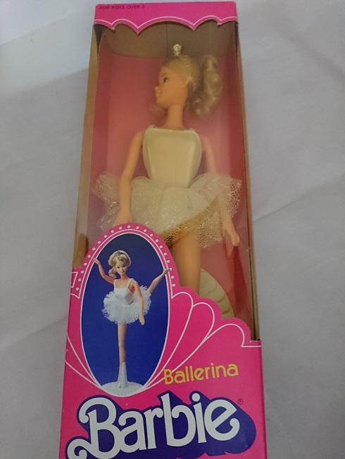 1983 バレリーナ バービー  バレリーナ雑貨 バレエ雑貨 プレゼント バレリーナ人形   Barbie  バービー人形