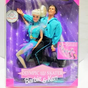 バービー人形 スケター オリンピック フギュアスケター バービー ケン Barbie 1997 タラ リピンスキー クリスマスプレゼント