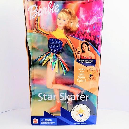 オープニング 大放出セール バービー オリンピック フギュアスケター ミッシェルクワン 人形 Barbie バービー人形 バービー人形 クリスマスプレゼント クリスマスプレゼント, azzurri car shop:10b6e3d0 --- blacktieclassic.com.au