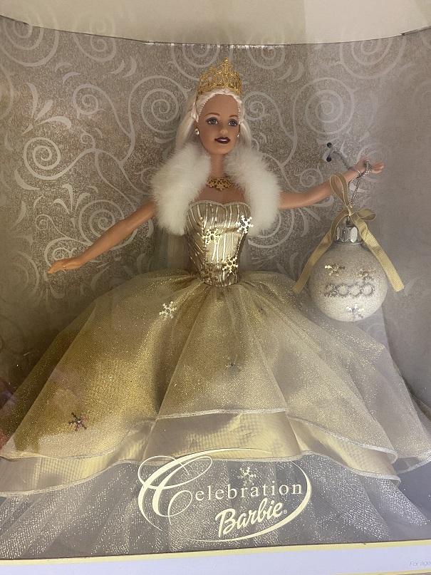 バービー Celebration 2000 ゴールドドレス バービー人形 Barbie