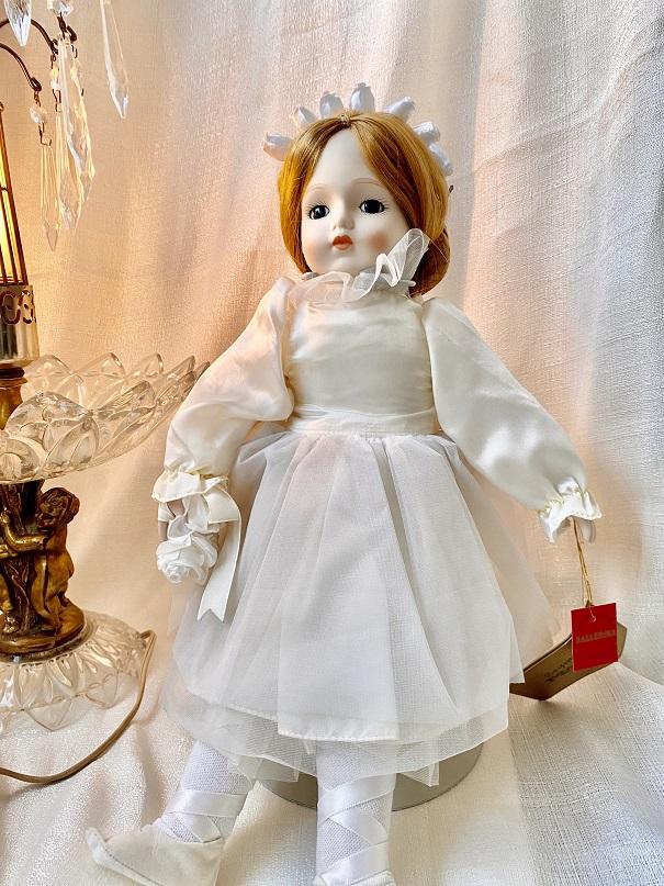 Seymour Mann バレリーナ人形  オルゴール ポーセリン ドール 白鳥の湖 バレエ雑貨 クリスマスプレゼントにも 可愛い インテリア 雑貨