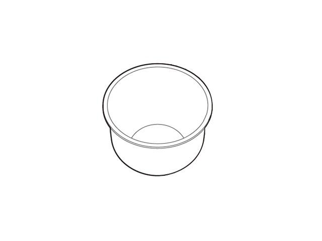 ARE50-G04 パナソニック Panasonic 炊飯器 交換用 内釜 炊飯器用 ☆国内最安値に挑戦☆ SR-PA10E2対応 売れ筋 SR-PA10E1 新品 内なべ 部品 純正
