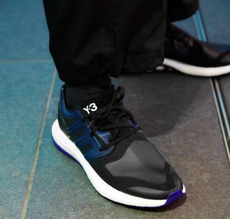 febc5417ea8b7 ... adidas style y 3 (y three) neoprene pure boost sneakers ☆ core black  black