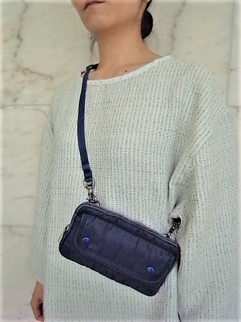 """PORTER CLASSIC(ポータークラシック)【SUPER NYLON】""""S/N WALLET POUCHP""""☆BLUE★"""
