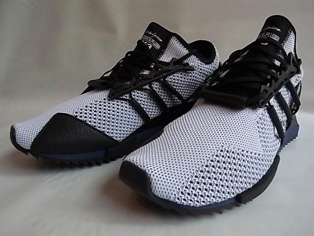 adidas STYLE Y-3 (Y - three) STRETCH MESH X LEATHER