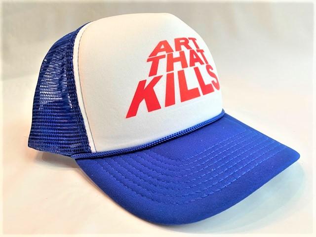★2021-22 F/W COLLECTION★ GALLERY DEPT.(ギャラリーデプト)【ATK TRUCKER CAP】メッシュCAP★BLUE×WHITE☆