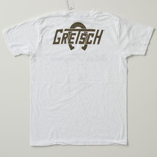GRETSCH [그렛치] T셔츠 화이트 펭귄 로고