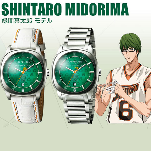 -Citizen watch INDEPENDENT oficialcollabowatch / anime watch Kuroko's basketball.