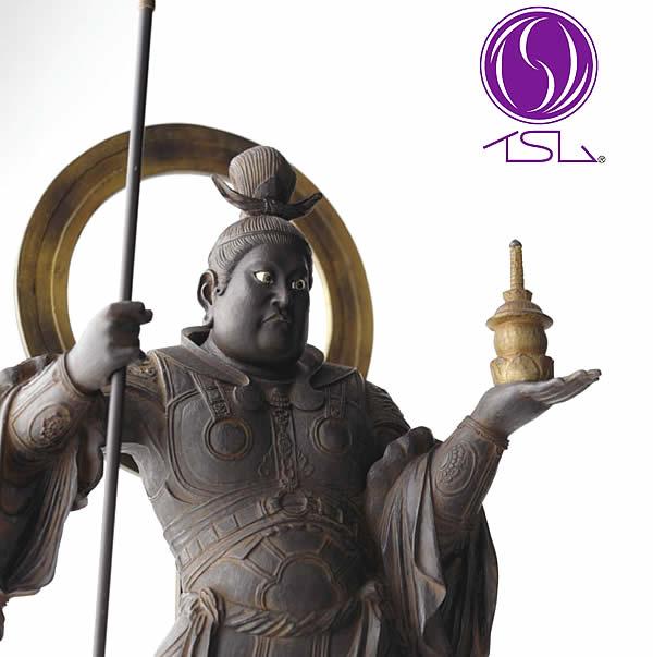 毘沙門天( びしゃもんてん ) イSム ( イスム ) 仏像 フィギュア イスム いすむ インテリア仏像 仏像ワールド 送料無料