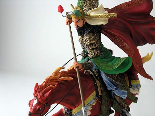 Sangokushi figure (painted finish) Guan Yu / M-ARTS